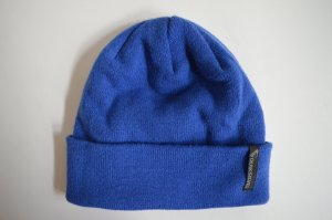 Blaue Beanie von Quicksilver