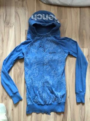 Blaue Bench Jacke Größe XS S 34 36 wie neu Zipper