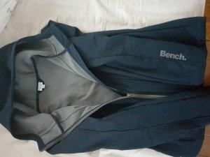 blaue bench jacke mit kaputze