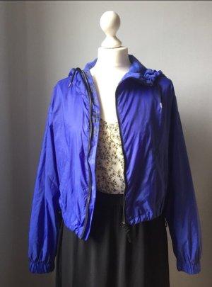 blaue Bershka Jacke