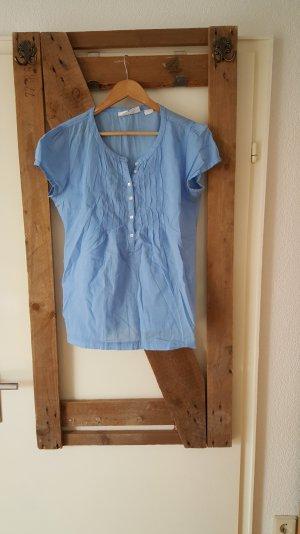 Blaue Bluse für den Frühling!
