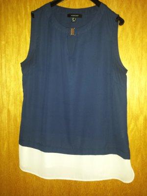Blaue Bluse, Größe 42