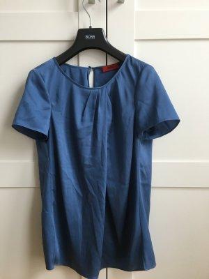 Blaue Bluse in Größe 32 von Hugo