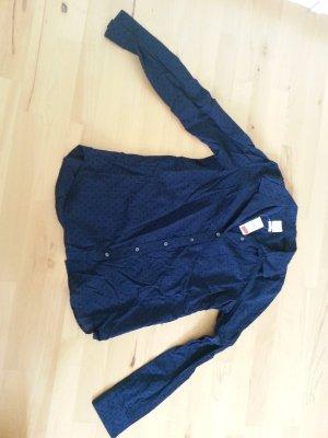 Blaue Bluse mit Pünktchen von GAP