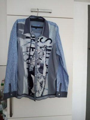 Blaue Bluse von Bonita