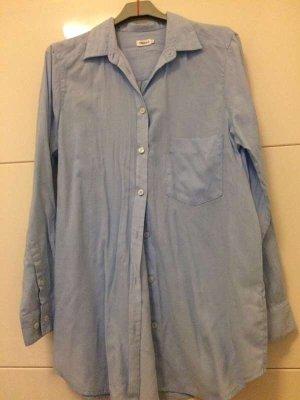 Blaue Bluse von Filippa k in Größe small, sehr guter Zustand, größer geschnitten, passt auch für Medium