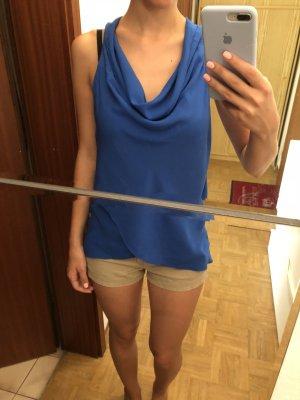 Blaue Bluse von Hallhuber XS