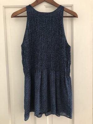 blaue Bluse von Michael Kors