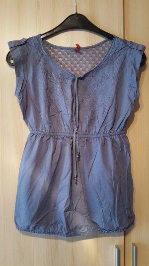 Blaue Bluse von S.Olivier