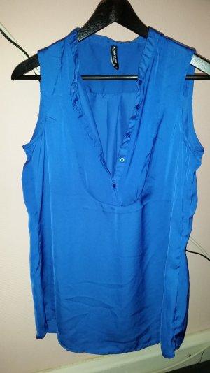 .blaue Bluse von Takko.