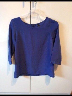 Vero Moda Blouse brillante bleu