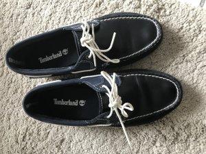 Blaue Bootsschuhe Timberland Gr 40