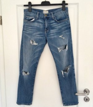 Current/elliott Boyfriend Jeans blue