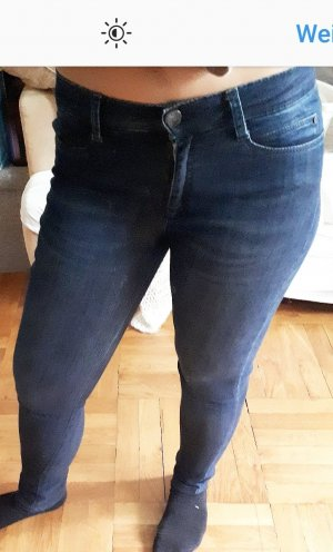Brax Drainpipe Trousers dark blue