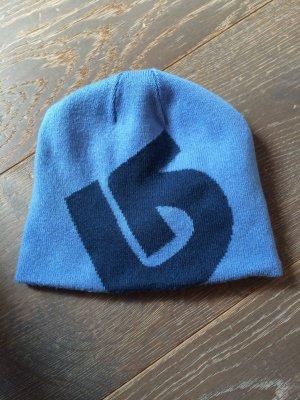 Blaue Burton Wendemütze