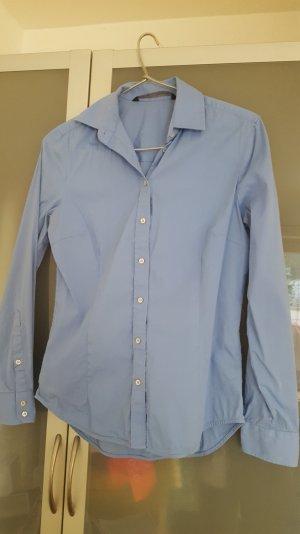Blaue Business Bluse von Zara