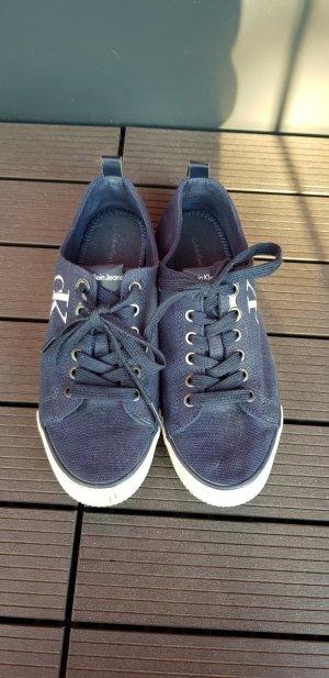 Calvin Klein Slip-on Sneakers dark blue