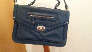 blaue Cambridge Satchel Handtasche
