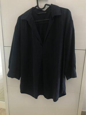 Blaue Casual Bluse Gr.M von Zara