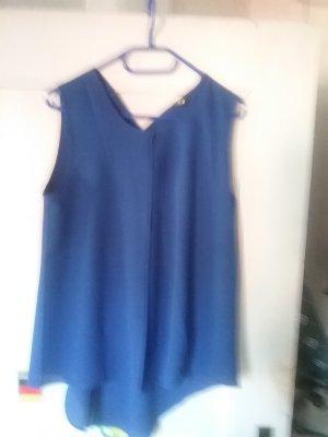 blaue chiffonbluse g.40,karr.markenkostüm,schw. partykleid,schw.spitzentop,weste