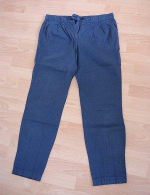 blaue Chino Zara