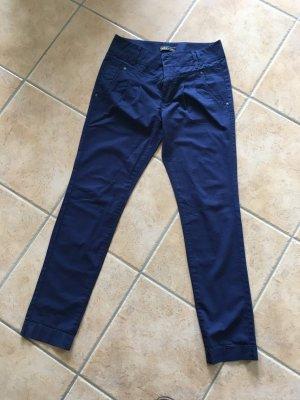 Only Chinos dark blue cotton