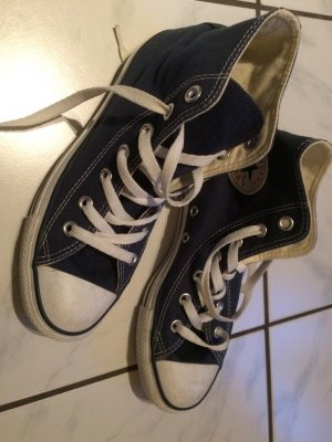 Blaue chucks All Star Converse