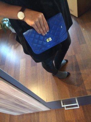Blaue Clutch / Umhängetasche