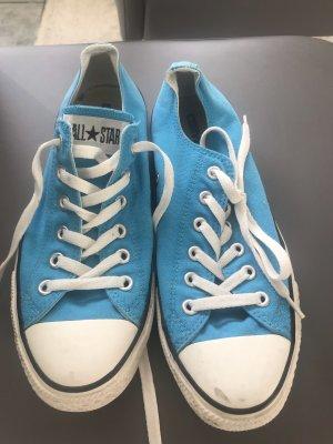 Blaue Converse all Star chucks