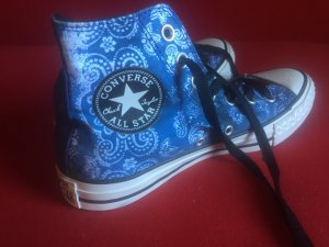 Blaue Converse All Stars Gr. 37 - Nie getragen
