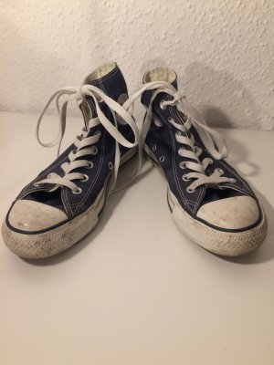Blaue Converse Chicks