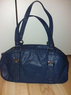blaue Damentasche