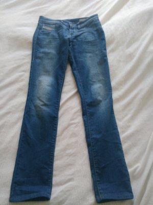 blaue Diesel Jeans