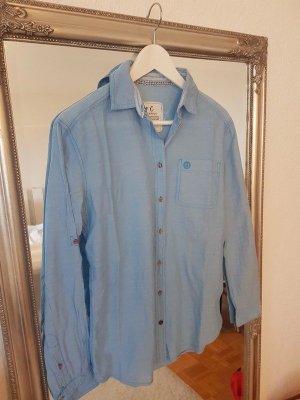 Blaue, dünne Bluse von Campus Gr. XS