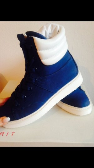 Blaue Esprit Boots neu mit Etikett!