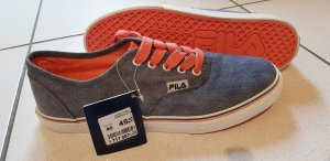 blaue Fila Schuhe, Sneaker, Turnschuhe, Sommerschuhe