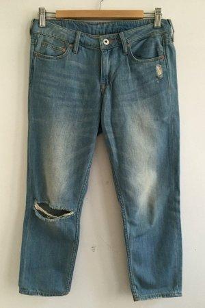 blaue girlfriend jeans von H&M ankle