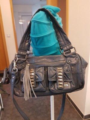 blaue Guess Tasche