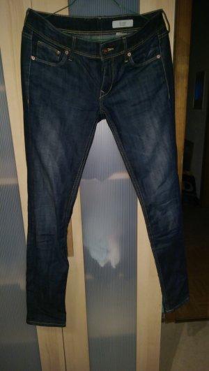 Blaue h&m jeans gr 34