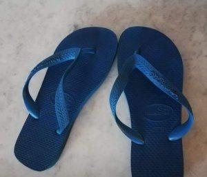 blaue Havaianas