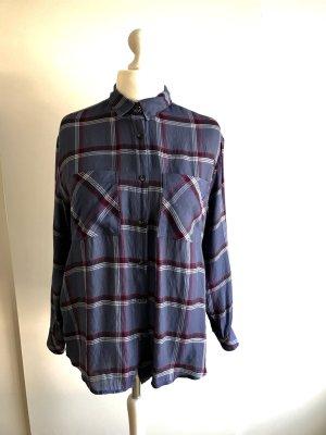 Mango Long Sleeve Shirt multicolored viscose