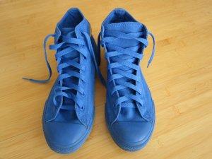 Blaue Hi Chucks Converse Schuhe