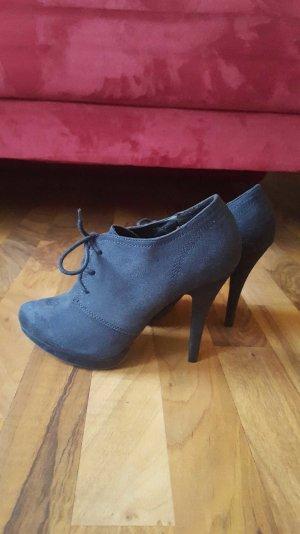Blaue High Heels Gr. 38