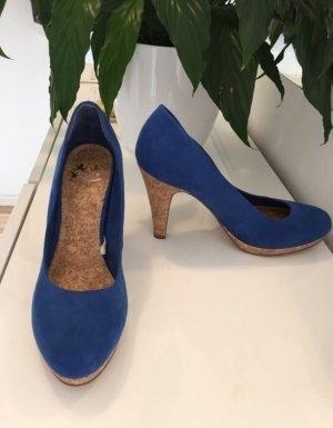 Blaue High Heels / Pumps