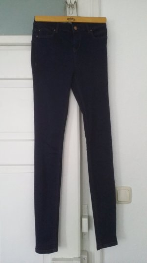 blaue high waist Jeggins von New Look