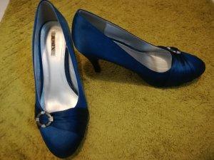 Blaue Highheels gr. 41