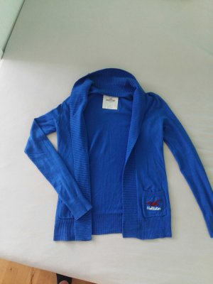 blaue Hollister Strickjacke