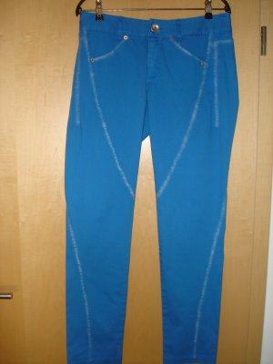 Alba Moda Peg Top Trousers blue cotton