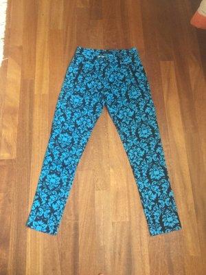 Blaue Hose Muster 34