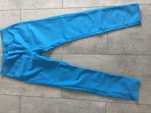 Blaue Hose / Röhrenhose strech
